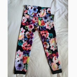 Old Navy Active Floral Crops